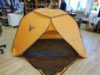 Frostbite popup 4 man tent.