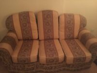 Used Sofa with two arm chairs