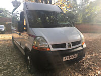 Renault Master 8 Seater Rear W/C Tail Lift Fully Tracked Minibus