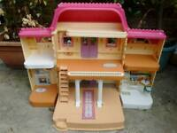 Large fold out Fisher Price Dolls House, Mansion, offers considered