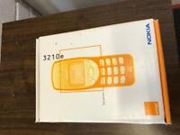 Nokia 3210i Original Phone Box (Just the Box)