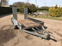 Indespension 3.5 tonne plant trailer
