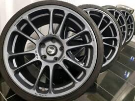 "18"" Honda type R Racing super light alloy wheels"