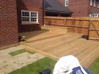 Decking and garden service