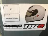 New fullface motorcycle helmets just in only £39.99 mat black -white-gloss black