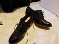 Ladies Black Shoes Monsoon size 40 UK7