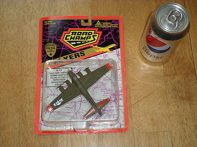WW#2, USA, B-17 FLYING FORTRESS BOMBER PLANE,ROAD CHAMPS DIECAST TOY, VINTAGE for sale  Arroyo Grande