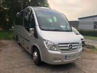 16 Seater Mini bus hire with driver in Wokingham, Woodley & Reading, Executive coaches available