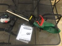 QUALCAST cordless hedge trimmer
