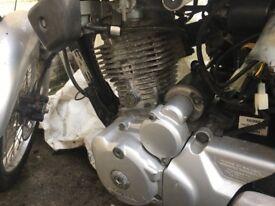2005 Honda cg 125 engine & all spare parts