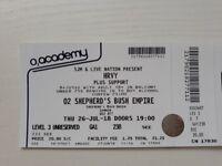 HRVY Tickets Shepherds Bush Empire