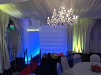 Inflatable Photo Booth Hire only £199 *LIMITED QTY LEFT*