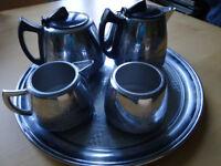 Vintage Swan Brand 5 piece tea service