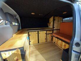 VW Transporter T5 camper - beautiful, unique and practical interior