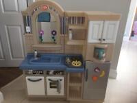 Little tikes kitchen/BBQ plus extras
