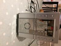 to give : Sanyo Hi Fi radio and CD player
