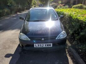Vauxhall Corsa (52 plate) LOW MILEAGE