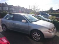 Audi A3 yr 2000 - One Lady Owner - Low Mileage for Year - Excellent Bodywork - MOT