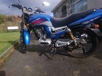 125cc Lexmoto Arrow Motorcycle