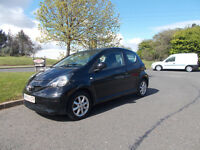 TOYOTA AYGO BLAC LIMITED EDITION 2006 ONLY £20 PER YEAR ROAD TAX BARGAIN £1250 *LOOK* PX/DELIVERY