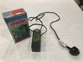 Eheim Small Internal Aquarium Filter. For 45L / 12gal tanks. Used.