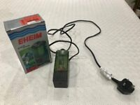Eheim Small Internal Aquarium Filter. For 45L / 12gal tanks. Used.