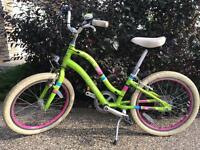 Girls Electra Townie bike