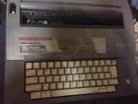 Retro Smith Corona electric typewriter
