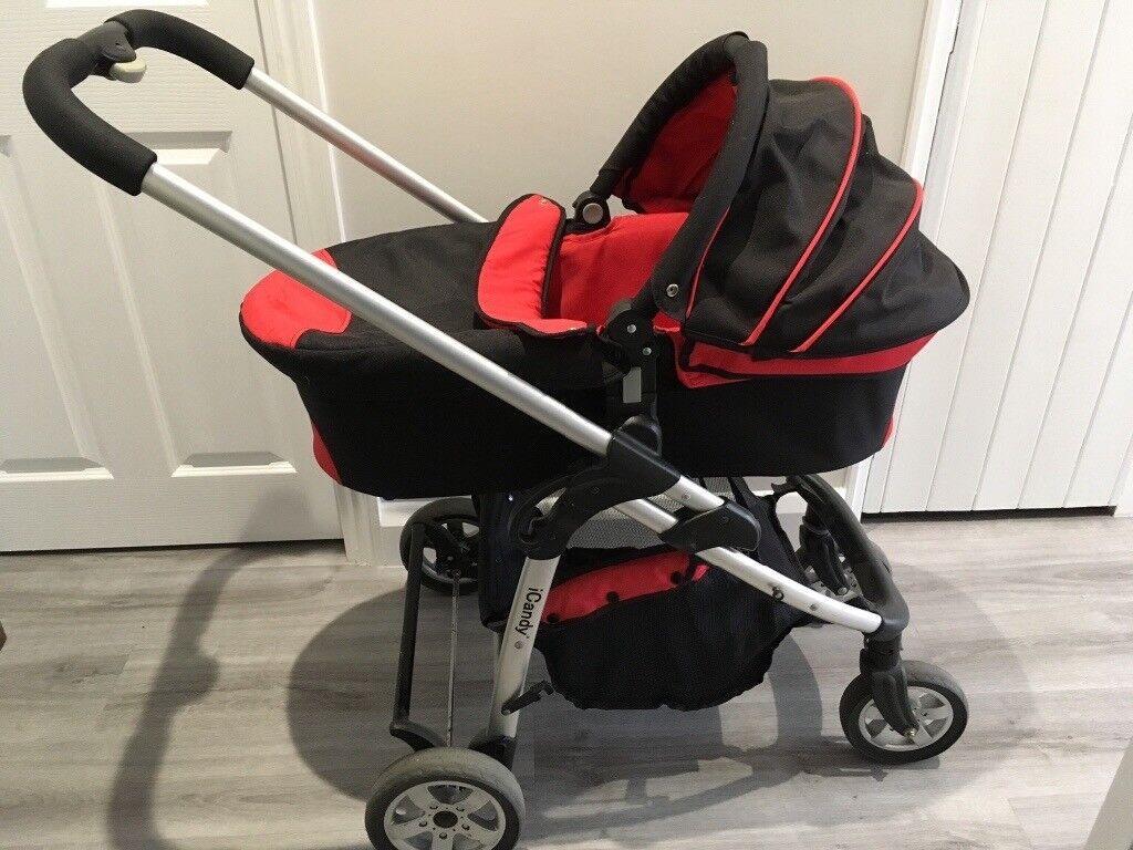 iCandy Cherry + iCandy foot + Maxi Cosi car seat (+adaptors ...