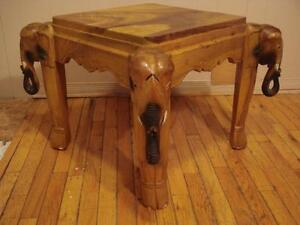 Amazing Elephant Accent Table