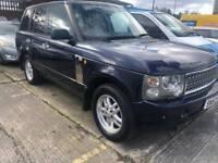 2004 53 Reg Land Rover Range Rover HSE 3.0 Diesel Blue Full Leather