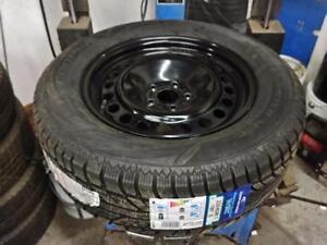 Brand New 235 65 17 winter tires on OEM 2014 Ford EDGE rims 5x114.3 / TPMS
