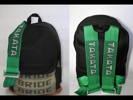 TAKATA BAG JDM GREEN HARNESS