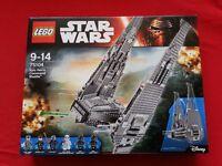 Lego Star Wars Kylo Ren Shuttle - Brand New Sealed in Box