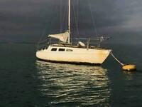 25 feet listang sailing boat. .racing yacht. .