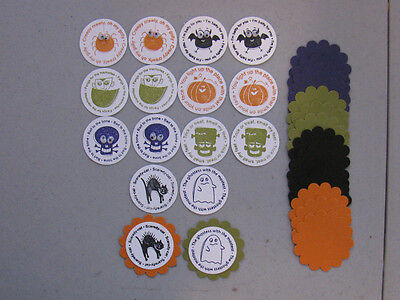 Stampin' Up! Halloween Batty For You Scallop Circle/Circle Punches 32](Halloween Scallops)