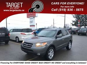2009 Hyundai Santa Fe Limited, Leather, Roof, Very Clean and Mor