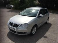 Volkswagen polo 1.4 automatic-2008 model-5dr hatchback-cheap insurance-part exchange available