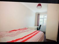 A LARGE DOUBLE ROOMS WITH FURNISHED