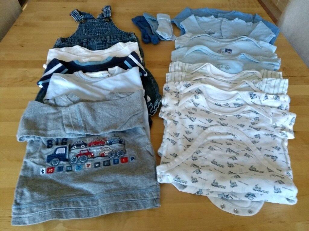 a133e1e13883 Baby boy Autumn   Winter clothes 9 - 12 months