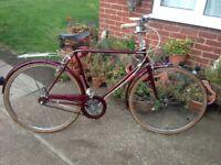 Rare vintage Yeoman Sandringham town bike