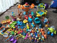 Octonauts figures and vehicles