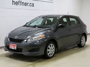 2013 Toyota Matrix With Cruise Control