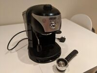 DeLonghi EC 220 Espresso Machine - Black