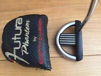 USED SCOTTY CAMERON FUTURA PHANTOM MALLET PUTTER