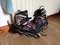 Woman's roller blades