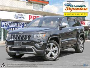2016 Jeep Grand Cherokee Limited>>>leather, NAV, sunroof<<