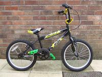 Children's Nitro 18inch BMX Style bike