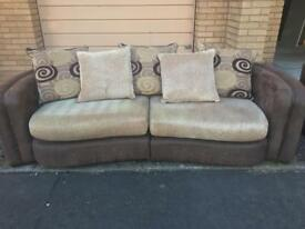 2 & 3 seater sofas will swap for van.please look at photos as really lovely sofas