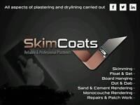Skimcoats plastering